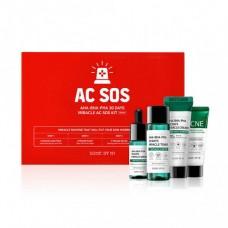 Мининабор кислотных средств для проблемной кожи Some By Mi AHA-BHA-PHA 30 Days Miracle AC SOS Kit