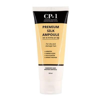 Несмываемая сыворотка для волос с протеинами шелка CP-1 Premium Silk Ampoule, 150 мл