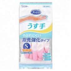 Перчатки ST Family для хозработ с антибактериальныйериальным эффектом каучук размер S