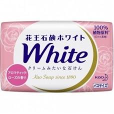 Мыло для рук KAO твердое PureWhip аромат букета роз кусковое (розовое) 130гр