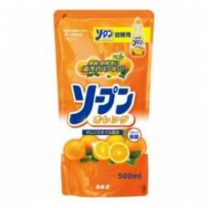 Kaneyon Sopun Средство д/мытья посуды (апельсин) МУ 500 мл