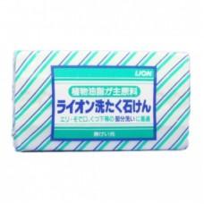Мыло хозяйственное LION Loundry soap для белого и цветного белья ручной стирки всех видов тканей 220гр 50