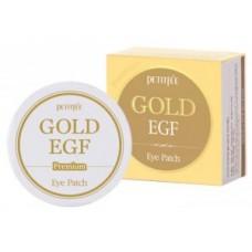 Патчи гидрогелевые для глаз с золотом Petitfee Gold & EGF Eye Patch (60 шт)