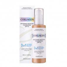 Тональная основа Enough Collagen Whitening Moisture Foundation 21 тон, 100 мл