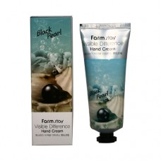 Крем для рук FarmStay Visible Difference Hand Cream Black Pearl