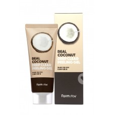 Пилинг-гель с экстрактом кокоса FarmStay Real