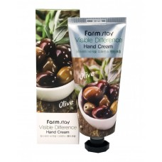 Крем для рук FarmStay Visible Difference Hand Cream Olive