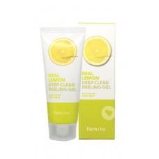Пилинг-гель с экстрактом лимона FarmStay Real