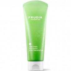 Frudia Pore Control Scrub Cleansing Foam Green Grape - Скраб-пенка для умывания с Виноградом 145мл