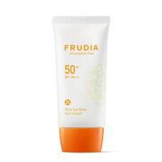 Солнцезащитная тональная крем-основа SPF50+/PA+++, FRUDIA, Tone Up Base Sun Cream, 50мл