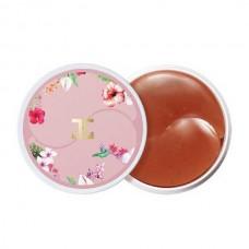 Гидрогелевые патчи с экстрактом чая каркаде Jayjun Roselle Tea Eye gel Patches