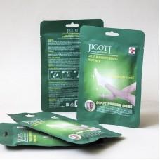 Jigott Clean & Moisturizing Foot Pack Очищающая и увлажняющая маска для ног (пилинг-носочки), 2х20 мл