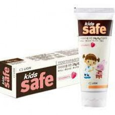 Детская зубная паста Lion Kids Safe 3-12 лет Клубника 90 г