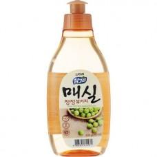 CJ Lion Chamgreen Средство для мытья посуды, фруктов, овощей, Японский абрикос, 290 мл