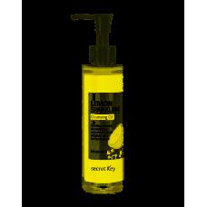 Гидрофильное масло с эффектом осветления Secret Key Lemon Sparkling Cleansing Oil 150 мл.