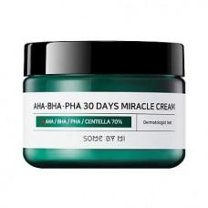 Восстанавливающий крем для проблемной кожи Some By Mi AHA-BHA-PHA 30 Days Miracle Cream (60 гр)