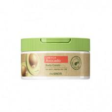 Питательный крем для тела с экстрактом авокадо The Saem Natural Daily Avocado Body Cream 300 гр