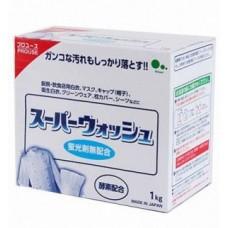 """""""Mitsuei"""" """"Super Wash"""" Мощный стиральный порошок с ферментами для стирки белого белья короб 1 кг"""